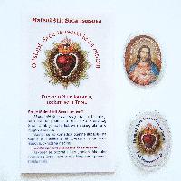 001M Maleni štit Srca Isusova