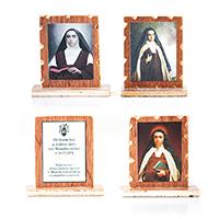 016R Relikvija na drvetu sa slikom svetice