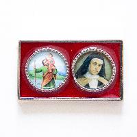 019A Metalna naljepnica (sv. Kristofor i sv. Maravillas)